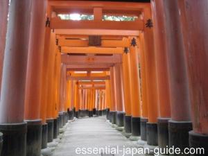 fushimi inari shrine top Fushimi Inari Shrine