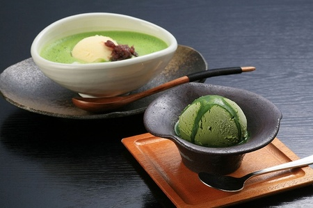 green tea ice cream Japanese Ice Cream