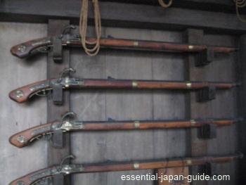 himeji castle muskets Himeji Castle