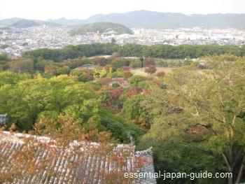 himeji castle view Himeji Castle
