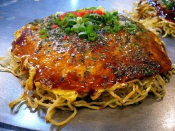 hiroshima okonomiyaki 1 Okonomiyaki Japanese Pancake