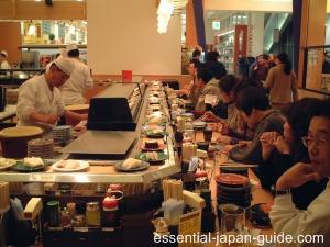 japan sushi kaitenzushi Essential Japan Sushi Guide