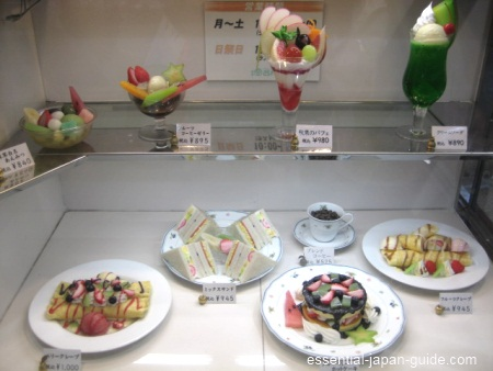japanese food displays 3 Japanese Food Displays