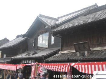 kawagoe architecture Kawagoe Japan Guide
