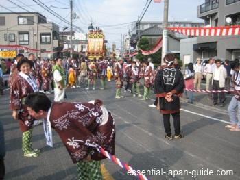 kawagoe festival hikkawase floats Kawagoe Japan Guide