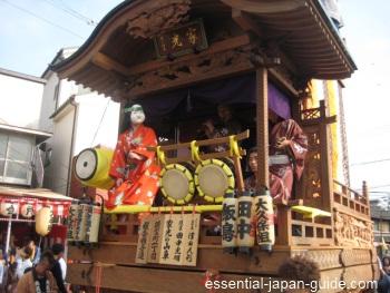 kawagoe matsuri hikkawase floats Kawagoe Japan Guide