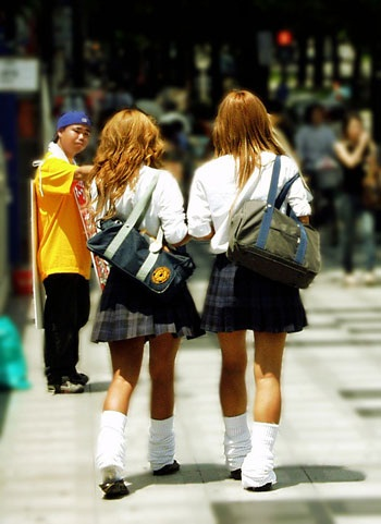 loose socks Japanese Fashion Trends