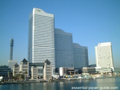 queens square 1 Minato Mirai 21 Guide