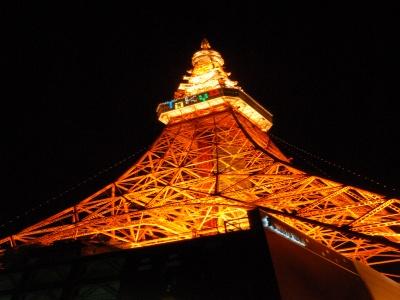 tokyo tower top Tokyo Tower