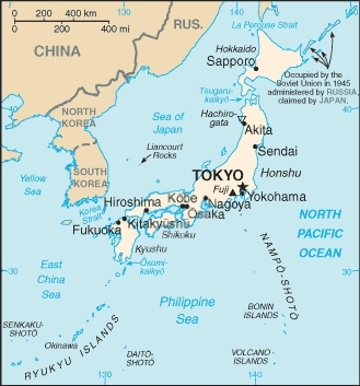 geography of japan1 Geography of Japan