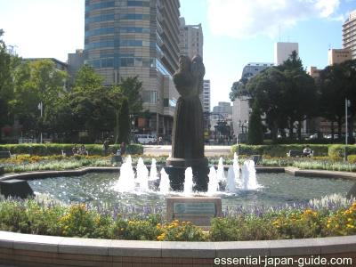 guardian of water Yamashita Park (Yamashita Koen)